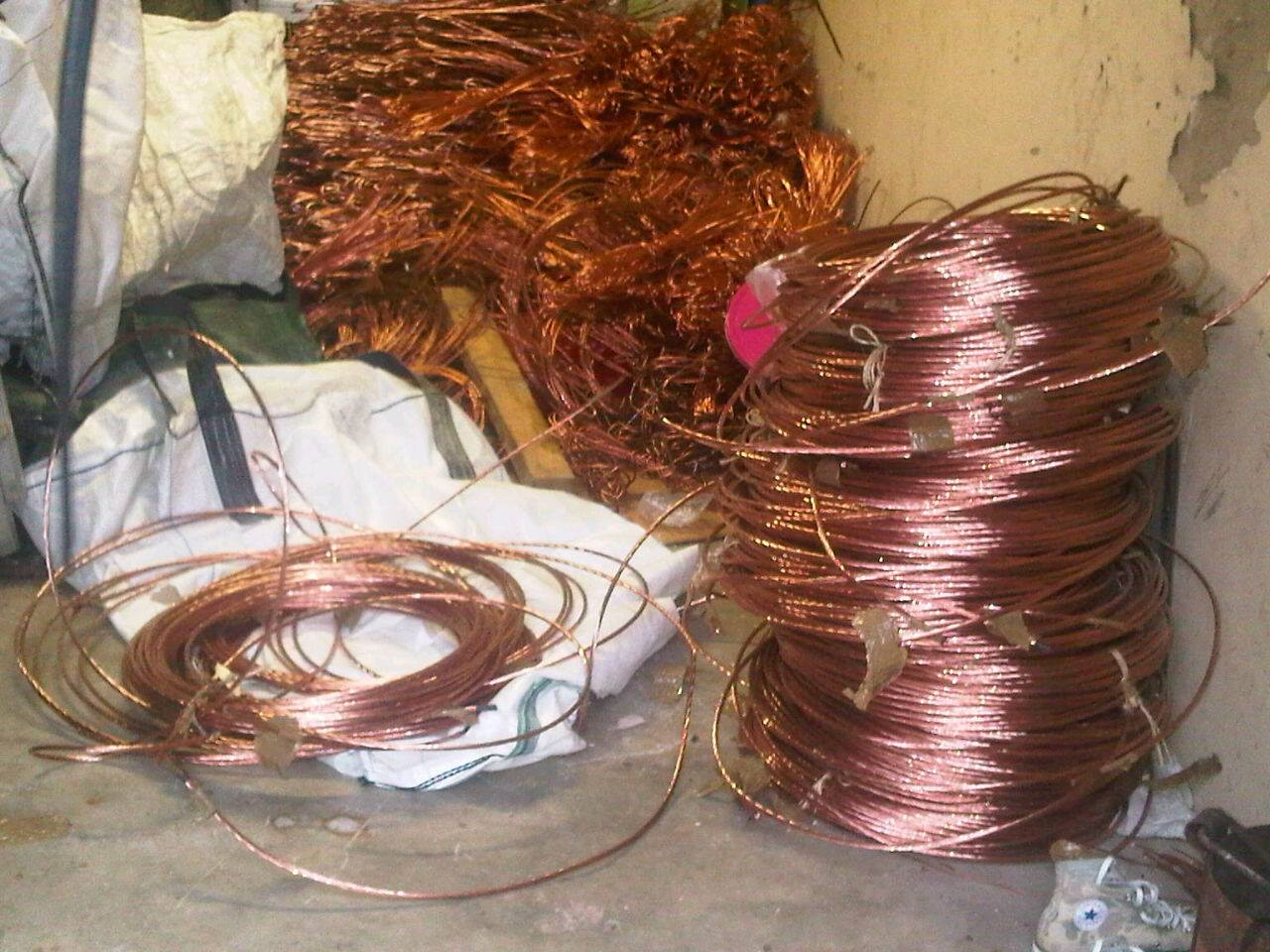 Durban Flying Squad Narcotics Task Team arrests cable thieves