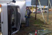 N1 Bloemfontein truck roll-over leaves one injured