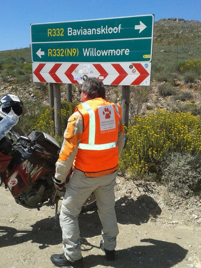 Adventure motorcyclists Karoo itinerary revealed