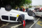Vehicle transporting School kids rolls leaving 15 injured in Durban