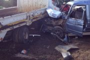 Seven injured when a taxi collided with a manure truck and a cyclist in Witkoppen