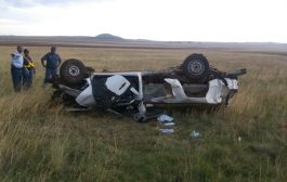 Three killed in Free State vehicle rollover crash on the N6 near Smithfield