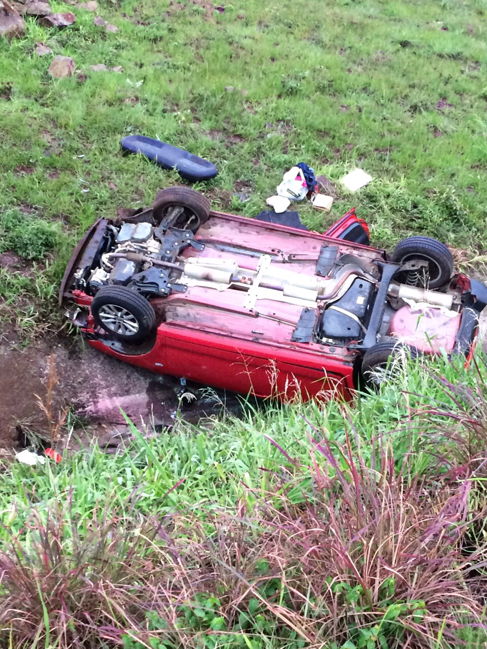 Ballito N2 vehicle rollover leaves two seriously injured