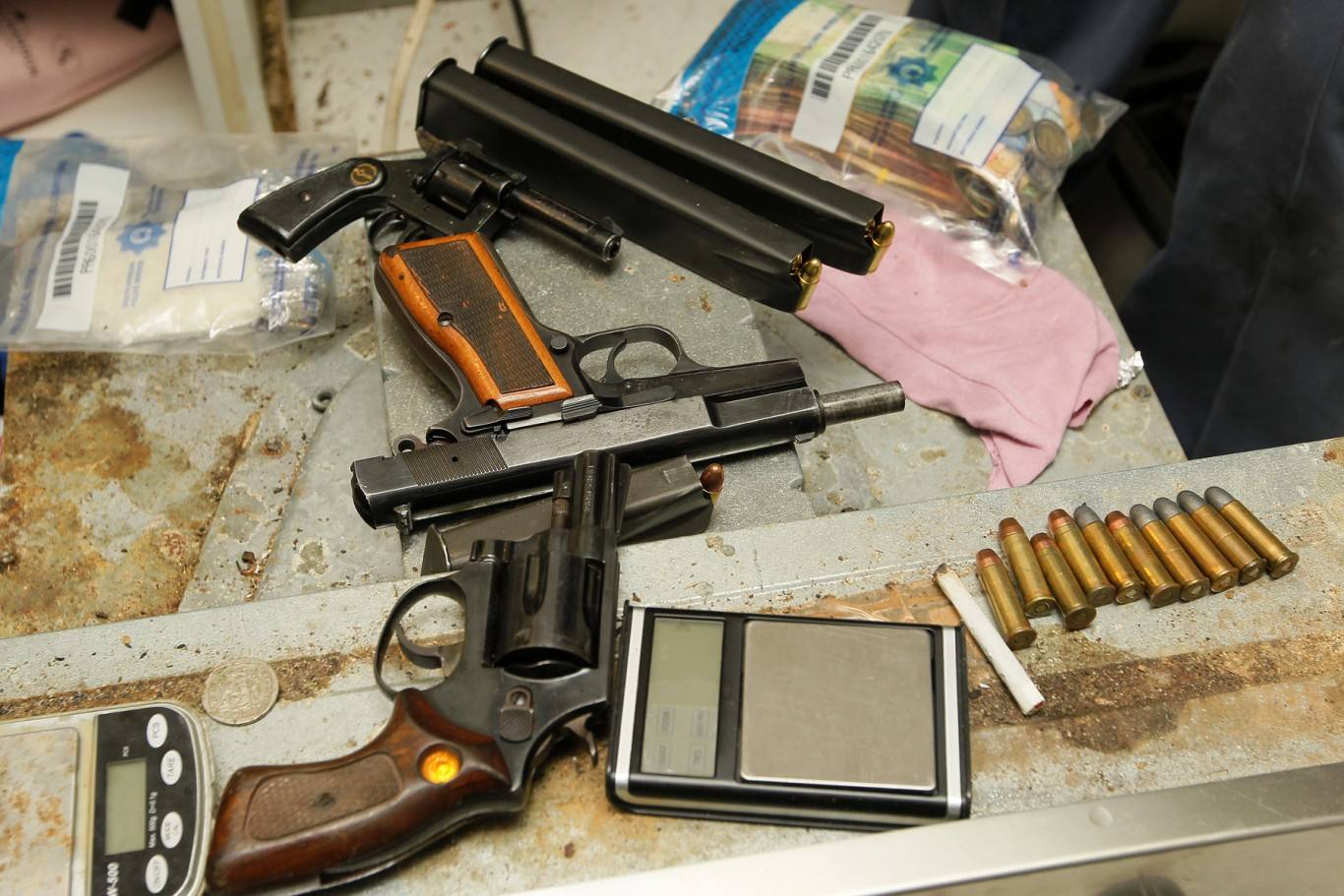 Four suspects arrested by Operation Combat for gang related crime in Elsies River
