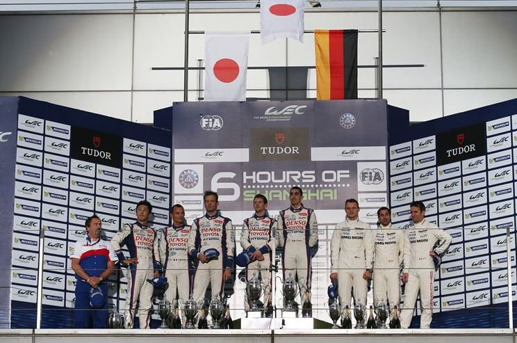 Toyota Racing dominant in Endurance Championship in China