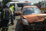 3 injured in Vereeniging collision
