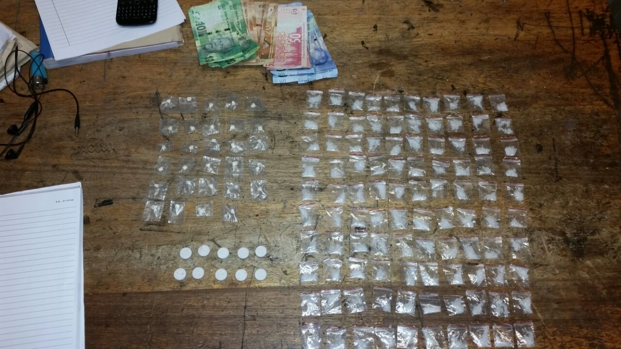 Suspect arrested in Woodstock for dealing in drugs