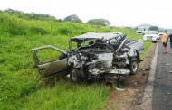 Baby and three adults killed in head-on collision while overtaking on the R37 close to Nelspruit