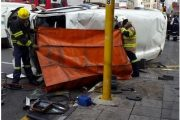 Fatal crash at the Nugget and President Road intersection in Johannesburg CBD