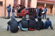 Vehicle search leads to arrest of 5 suspects for possession of explosives and fireams in Thaba Nchu