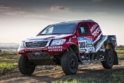 Dakar 2015: Race Vehicles and Equipment shipped to South America