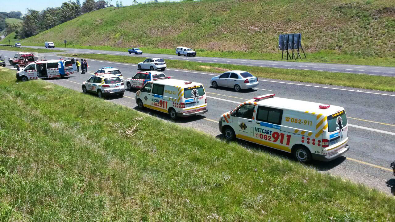 Critically injured man who fell from bakkie might have been sitting on mattresses