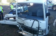 Bloemfontein road crash leaves four injured