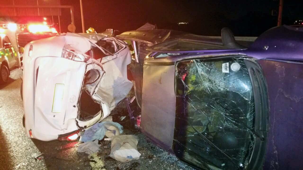 Seven injured in N2 collision 2