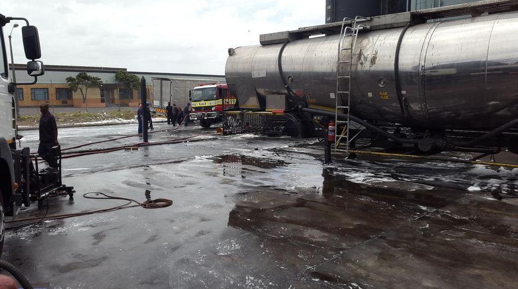 Two burnt in tanker fire in Primrose Park in the Western Cape