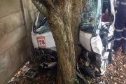 Taxi driver trapped in vehicle following collision in Kloof