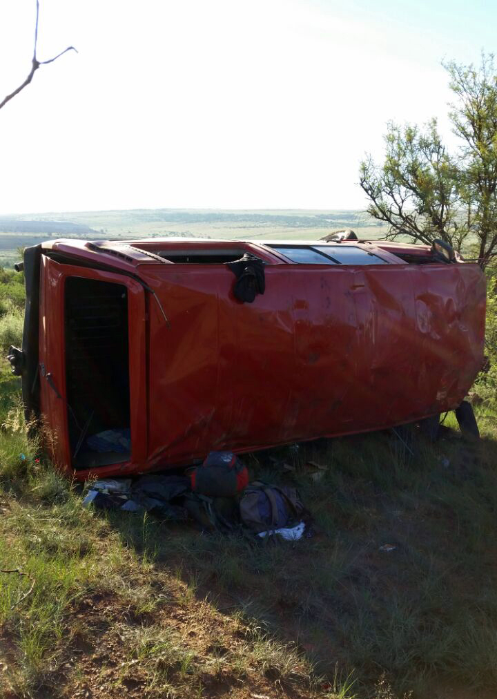 Two airlifted from N12 collision 1