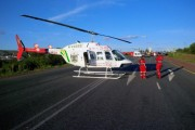Two airlifted from N12 collision