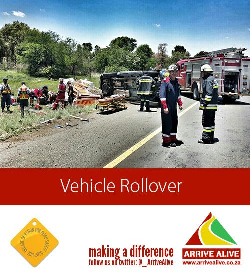 Magaliesburg rollover crash leaves man injured