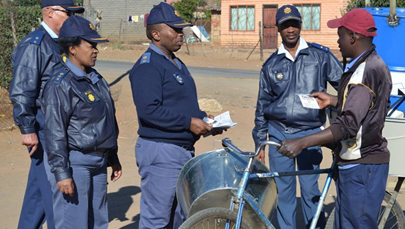 SAPS launches Front-Line Service Delivery Project