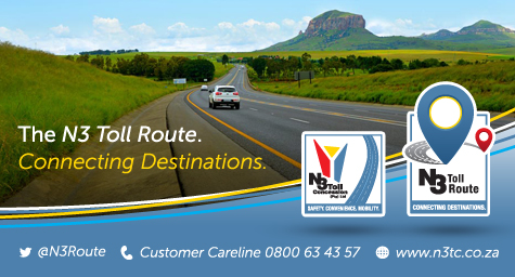 Several support services and road safety initiatives to assist road users on the N3 Toll Route