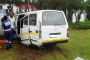 Taxi crash on Berea road leaves 7 injured in Durban
