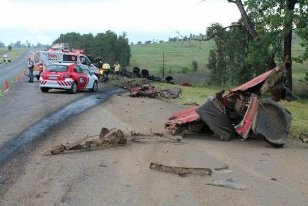 One dead after truck collision on the N11 outside of Newcastle