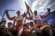 Elation as De Villiers / Von Zitzewitz finish on Dakar Podium