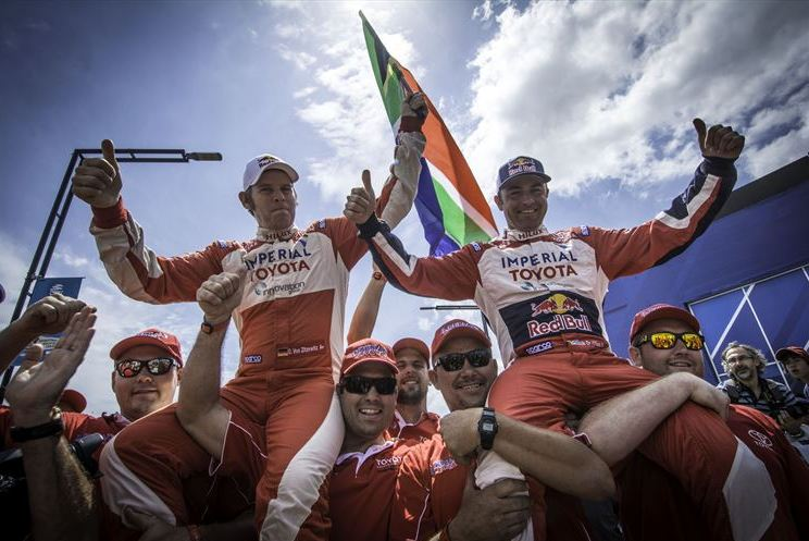 Elation as De Villiers / Von Zitzewitz finish on Dakar Podium
