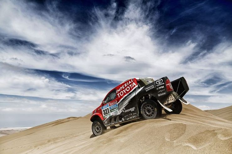 All systems go for Toyota Gazoo Racing in Dakar 2017
