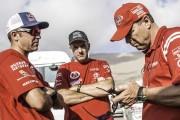 De Villiers and Von Zitzetwitz second on Stage 6 of Dakar 2015