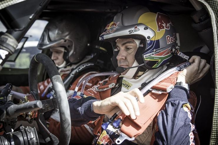 Hard work pays off for Giniel De Villiers in Dakar 2015