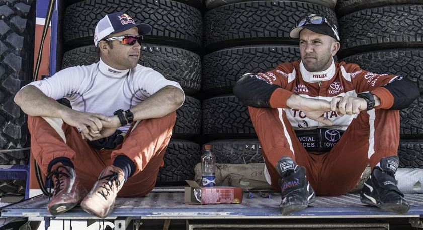 Steady performances by both Toyota Imperial South African Dakar Team vehicles on Dakar penultimate stage