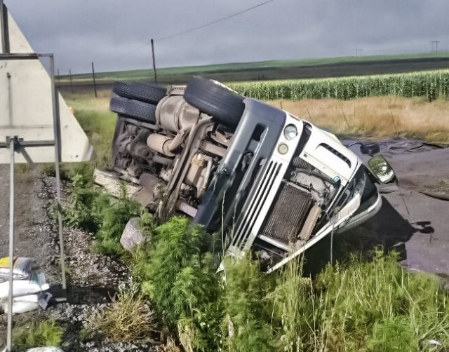 Harrismith accident leaves two injured (2)
