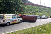 Modderfontein Road crash leaves one injured
