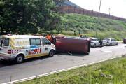 Modderfontein Road crash leaves one injured