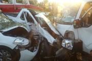 Motor vehicle collision leaves twelve injured
