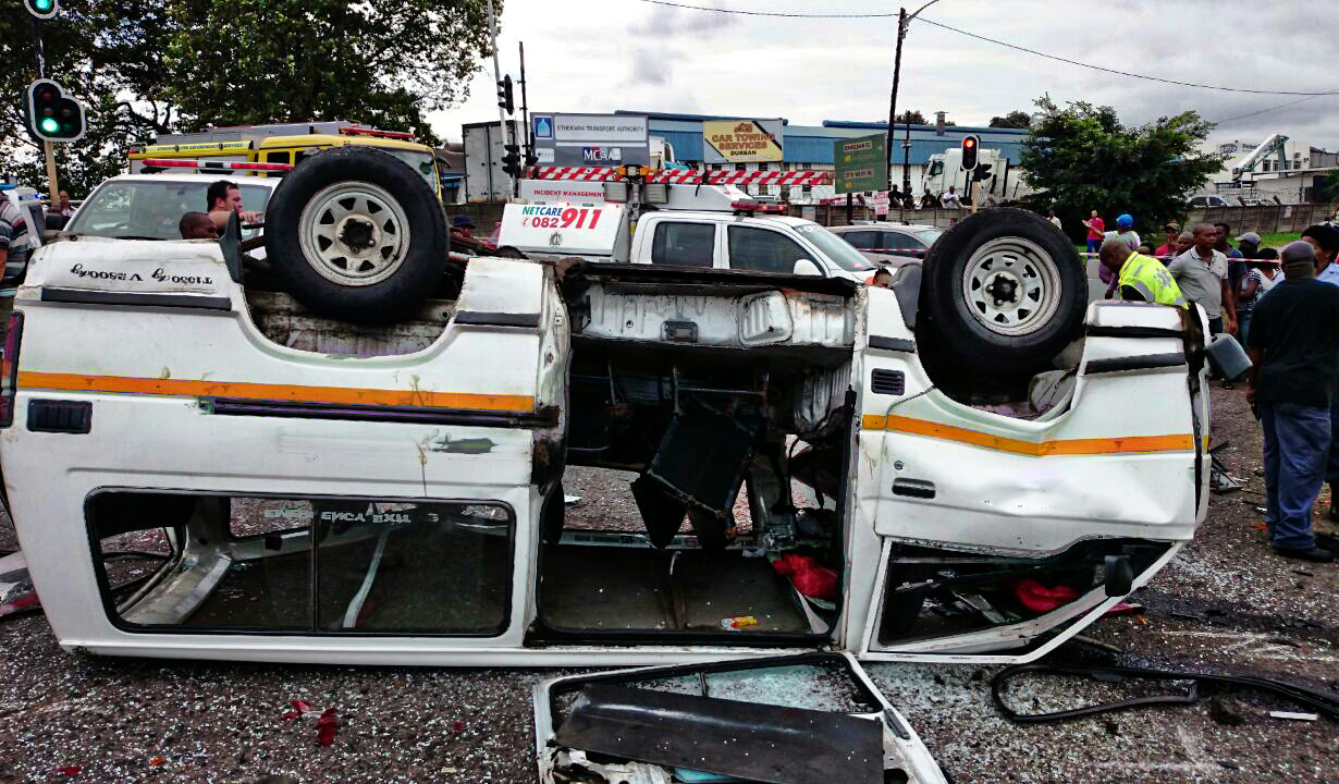 Otto Volec taxi crash leaves 14 injured