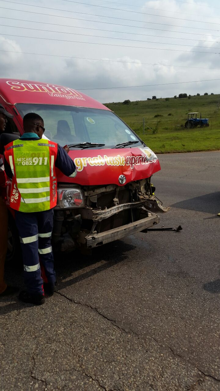 Crash in Groenkloof in Pretoria leaves multiple injured