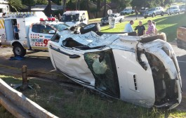 Roodepoort Helderkruin road crash leaves five people injured