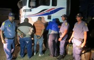Truck drivers arrested with more than 200 liters of suspected stolen diesel