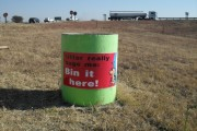 Continuous effort required to curb pervasive littering along our roads
