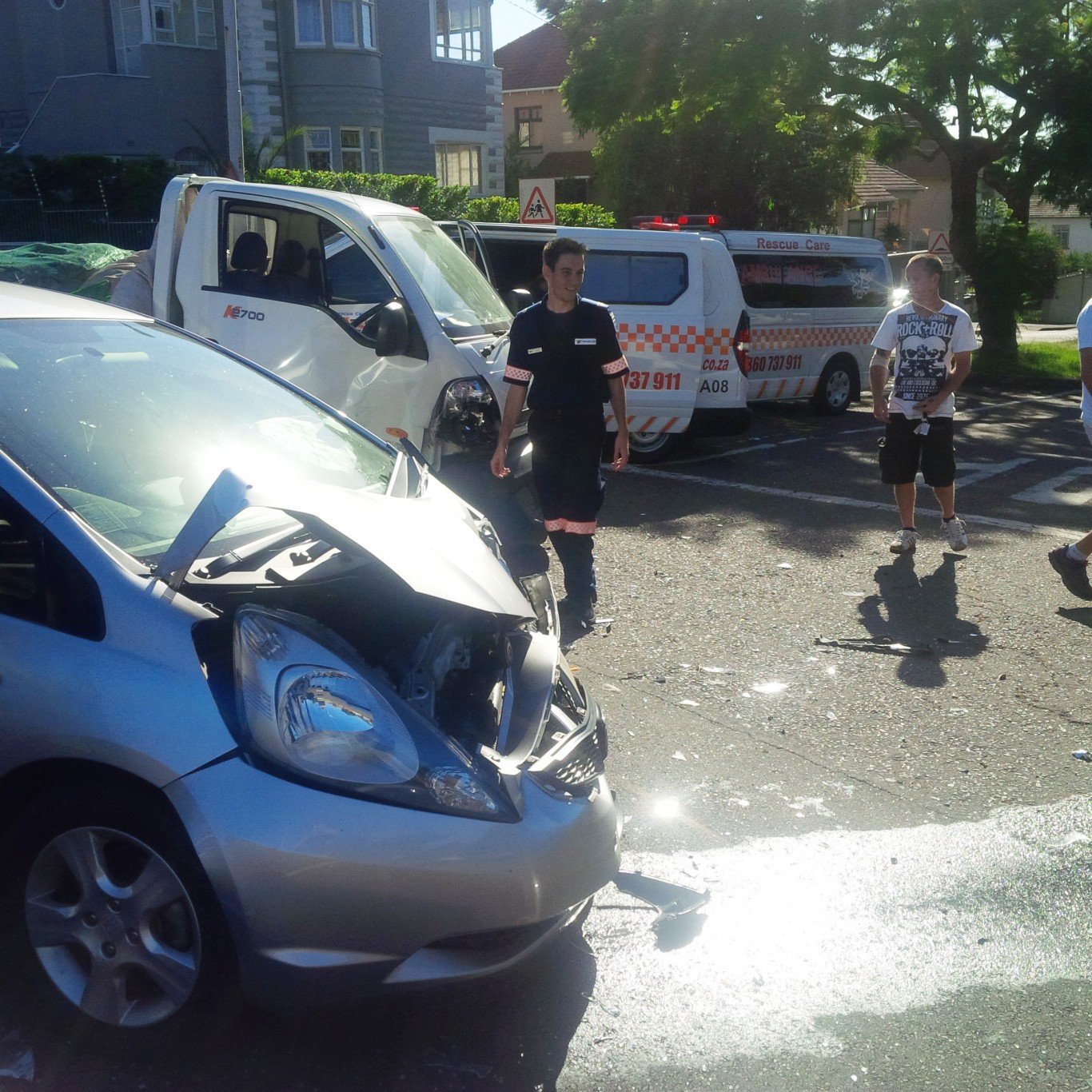 3 injured in early morning collision in Durban