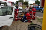 Motorcyclist injured in Newcastle