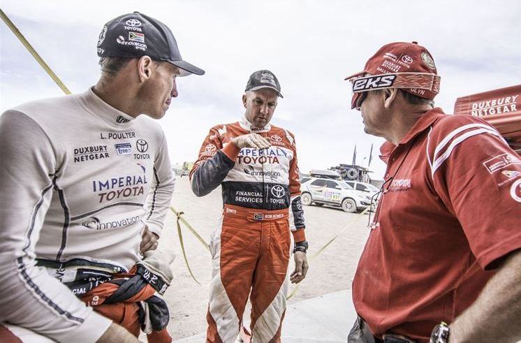 Poulter impresses as De Villiers consolidates in Stage 10 of Dakar 2015