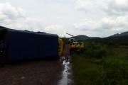 Truck rolls injuring 11 in the Sabie Graskop area in Nelspruit