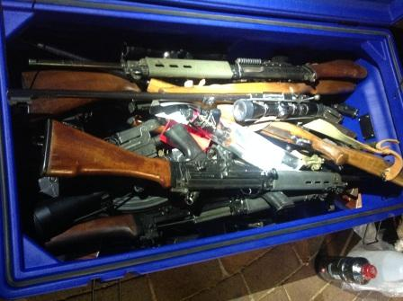 Police to destroy illegal firearms