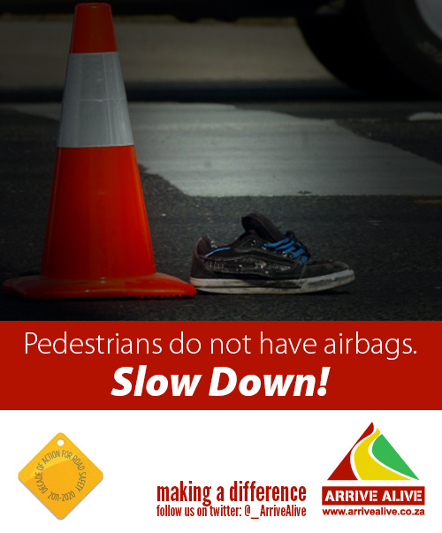 Pedestrian killed along Joe Slovo Drive