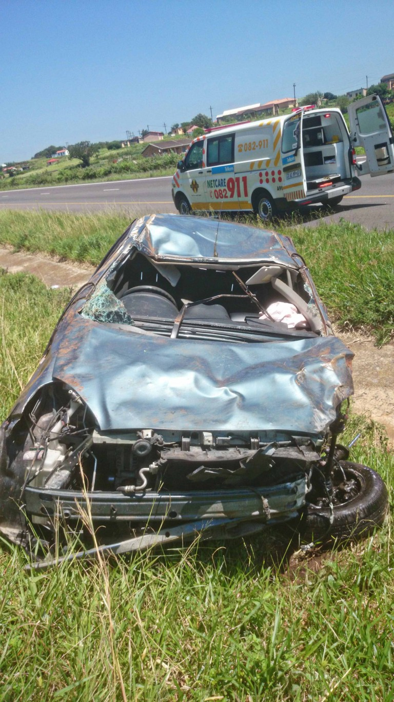 N2 Umgababa road crash leaves two injured