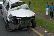 KZN Shelley Beach rollover crash leaves man injured